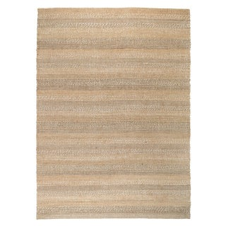Kosas Home Handcrafted Cali Natural and Grey Rug (8' x 10')