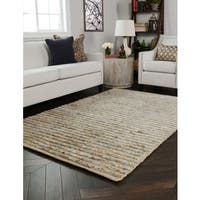 Kosas Home Handwoven Savannah Jute Natural Rug (9'x12') - 9' x 12'