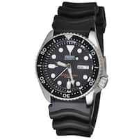 Seiko Men's SKX007J1 'Diver' Automatic Black Rubber Watch