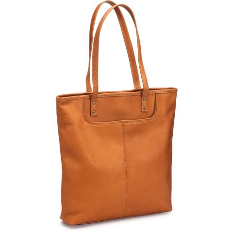 LeDonne Leather Fly Away Tote Bag