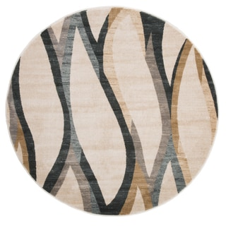 Windsor Home Opus Contemporary Curves Area Rug (5' Round)
