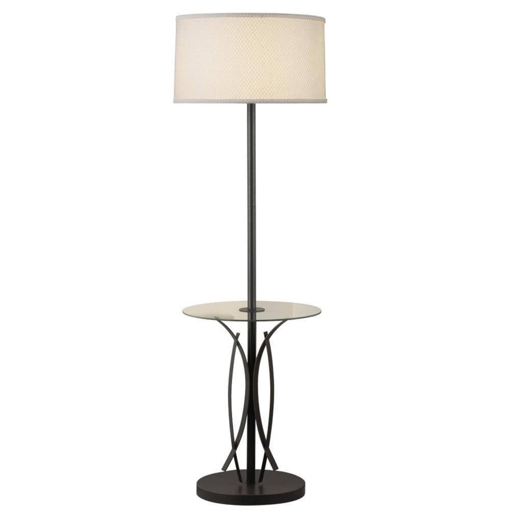 Image of: Shop Black Friday Deals On Kichler Lighting Contemporary 1 Light Bronze Floor Lamp Overstock 11663585
