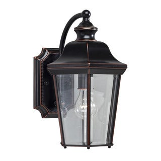Kichler Lighting Transitional 1-light Olde Copper Outdoor Wall Lantern