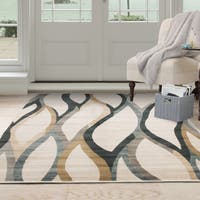 Windsor Home Opus Contemporary Curves Area Rug - 8' x 10'