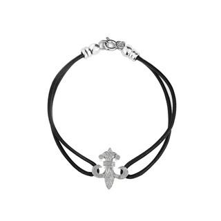Sterling Silver 1/5ct TDW Diamond Bracelet (I-J, SI1-SI2)