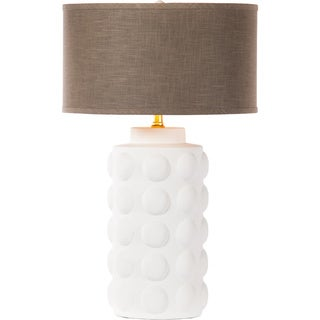 Zoey Table Lamp in Bianca