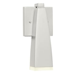 Kichler Lighting Contemporary 1-light Painted Platinum LED Outdoor Wall Sconce