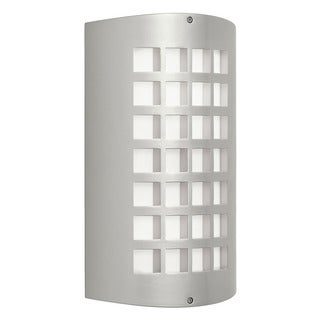 Kichler Lighting Contemporary 1-light Painted Platinum Outdoor Wall Sconce