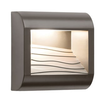 Kichler Lighting Contemporary 1-light Architectural Bronze Outdoor Wall Sconce