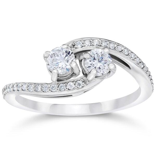 Ct  Stone Forever Us Diamond Ring K White Gold
