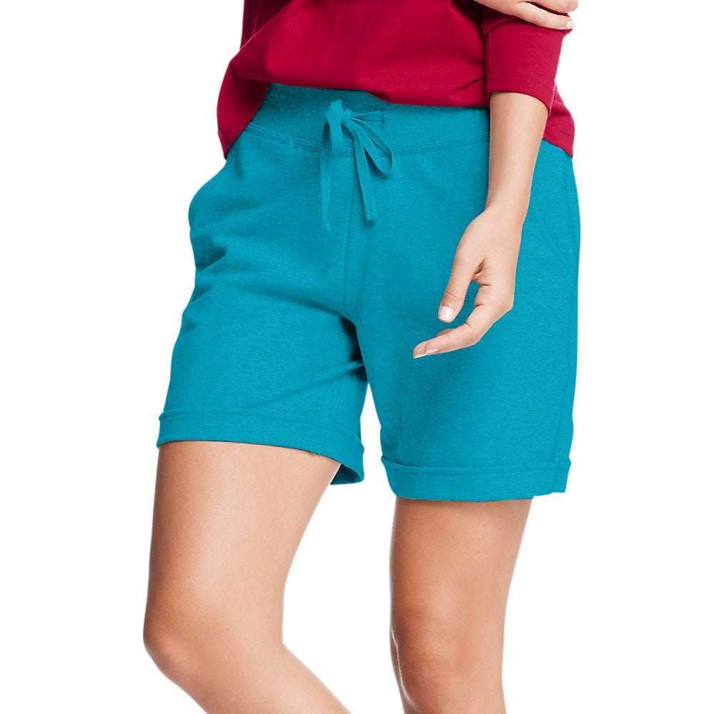 3f4255b46b Shop Hanes Women's French Terry Bermuda Pocket Short - Free Shipping On  Orders Over $45 - Overstock - 11663700