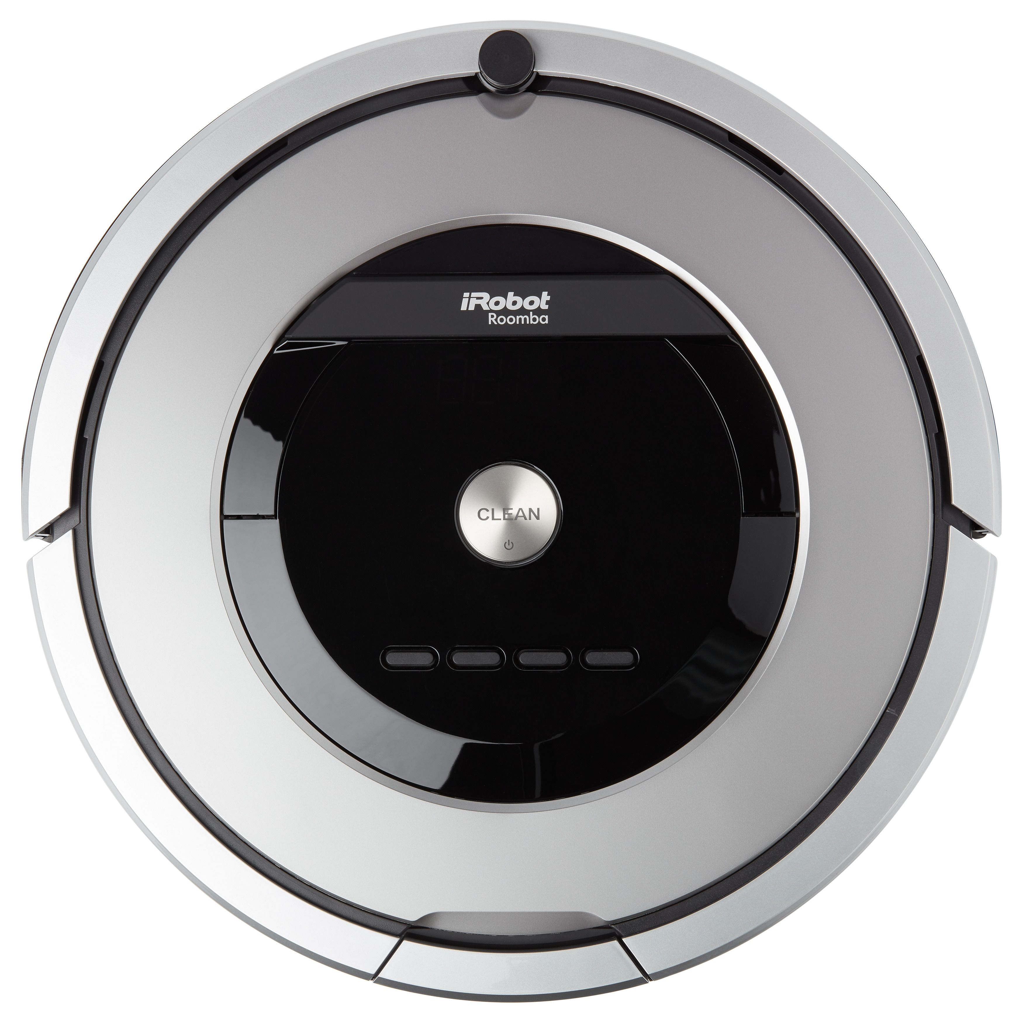 iRobot Roomba 860 Vacuum Cleaning Robot, Silver, Size 14 ...