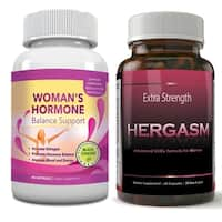 Totally Products Hergasm-Advanced Female Libido Virility Enhancement Plus FREE Woman's Hormone