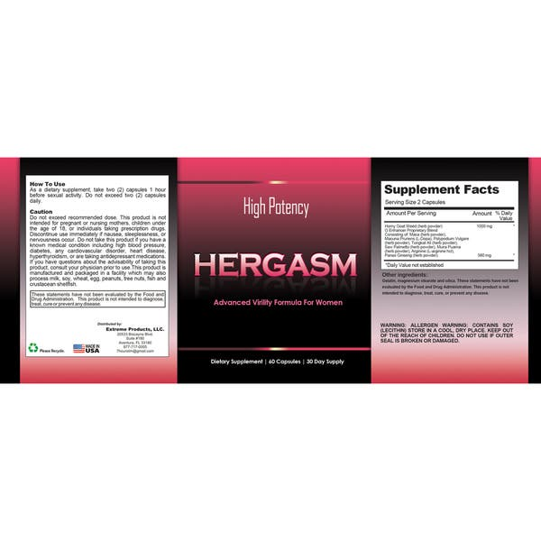 Shop Totally Products Hergasm Advanced Female Libido Virility