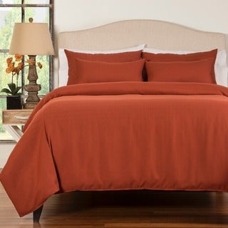 Belfast Henna 6-piece Queen Size Duvet Cover and Insert Set (As Is Item)