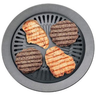 Chefmaster Smokeless Indoor Stovetop Barbeque Grill|https://ak1.ostkcdn.com/images/products/11663785/P18593356.jpg?impolicy=medium