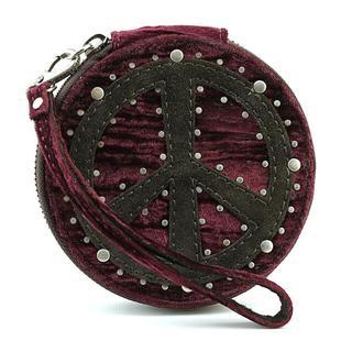 Lucky Brand Women's 'Peace Coin Purse' Polyester Handbags