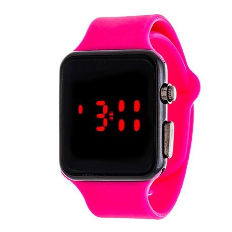 Zunammy Digital Core Ladies Sport Digital with Pink Rubber Strap Watch