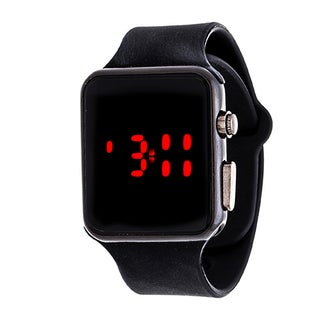 Zunammy Digital Core Men's Sport Digital with Black Rubber Strap Watch