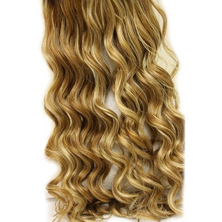 FEELsoREAL Yaki Synthetic Effortless Extensions Slip-on Wave Curl Caramel Creme