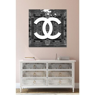 BY Jodi 'CoCo in Black' Giclee Print Canvas Wall Art