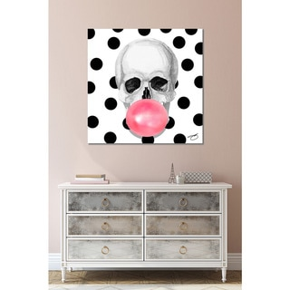 BY Jodi 'Bubble Brain' Giclee Print Canvas Wall Art