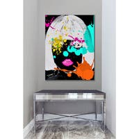BY Jodi 'Why So Negative' Giclee Print Canvas Wall Art