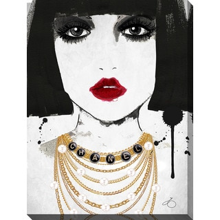 BY Jodi 'Drape Me In Chanel' Giclee Print Canvas Wall Art