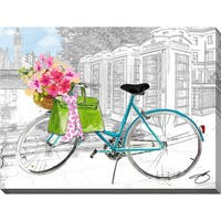 BY Jodi 'Saturday in London' Giclee Print Canvas Wall Art