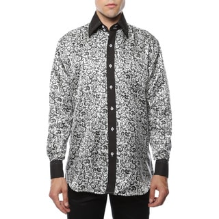 Link to Ferrecci Men's Satine Geometric and Paisley Dress Shirt Similar Items in Shirts