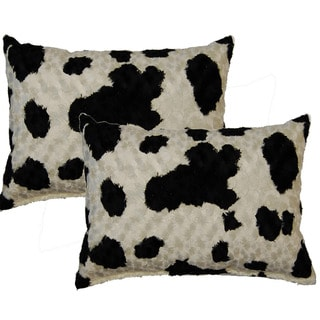 Mazuri Ivory 12-inch Throw Pillows (Set of 2)