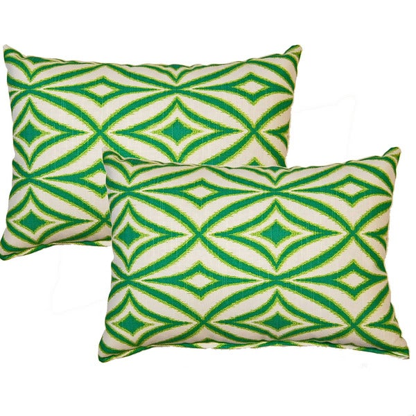 Centro Carnival 12-inch Throw Pillows (Set of 2)