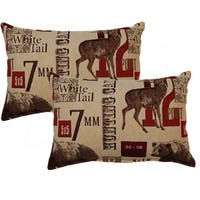 Boon Sand 12-inch Throw Pillows (Set of 2)