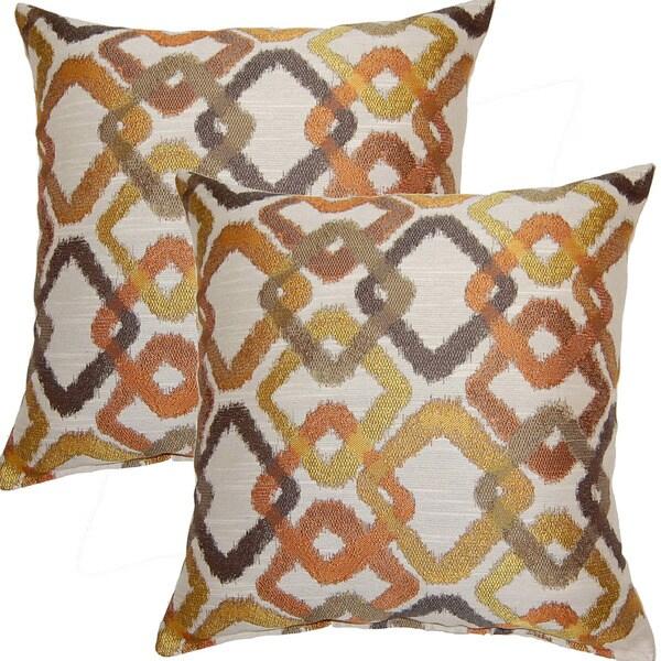 Kala Tanger-inche 17-inch Throw Pillows (Set of 2)