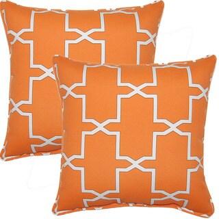 Emsworth Pumpk-inch 17-inch Throw Pillows (Set of 2)
