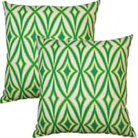 Centro Carnival 17-inch Throw Pillows (Set of 2)