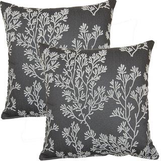 Poseidon 17-inch Throw Pillows (Set of 2)