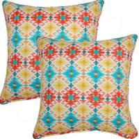 Stephan Bahama 17-inch Throw Pillows (Set of 2)