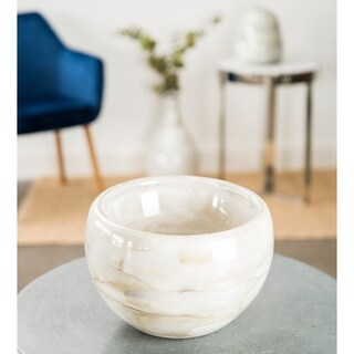 Hand Blown Glass Decorative Bowl Centerpiece