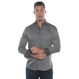 Isaac B. Grey Long Sleeve Button Down Shirt