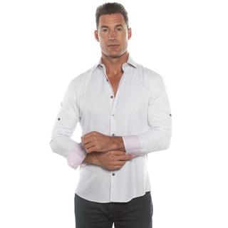 Isaac B. Purple Long Sleeve Button Down Shirt