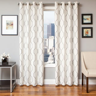 Maxwell Lined Grommet Top Curtain Panel