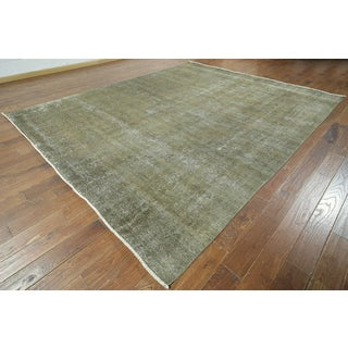 Hand Knotted Oriental Overdyed 10'X12'Wool W945