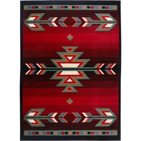 Home Dynamix Premium Collection Black Polypropylene Machine Made Area Rug Runner - 1'10 x 7'6
