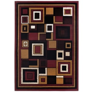 Home Dynamix Premium Collection Contemporary Red Area Rug