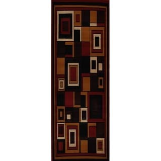 Home Dynamix Premium Collection Contemporary Red Area Rug (1'9 x 7'2)