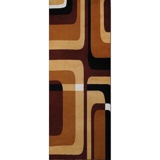 Home Dynamix Premium Collection Contemporary Ebony Area Rug (1'9 x 7'2)