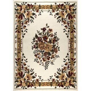 Home Dynamix Optimum Collection Contemporary Ivory Area Rug (1'9 x 7'2)