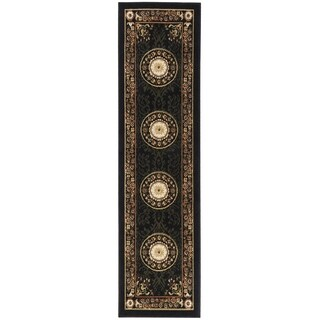 Home Dynamix Optimum Collection Contemporary Black Area Rug (1'9 x 7'2)