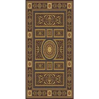 Home Dynamix Regency Collection Traditional Area Rug (27 x 76) (Brown Traditional 27X76 Area Rug)